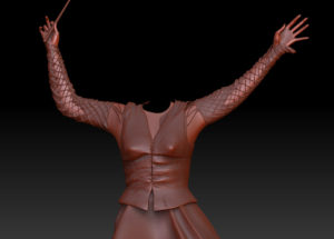 Bellatrix DD ZBrush Normal